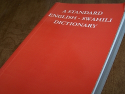 A STANDARD ENGLISH - SWAHILI DICTIONARY